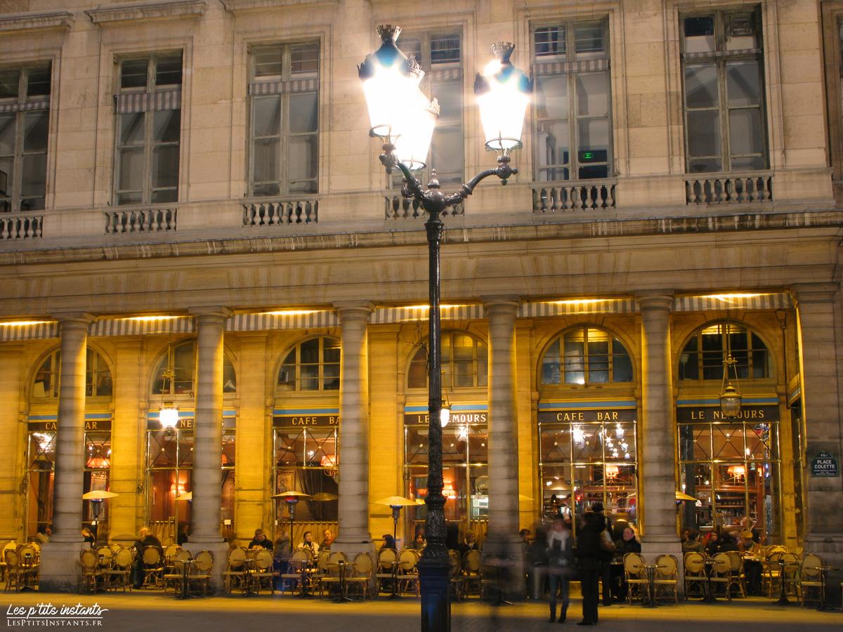Le café de la Place Colette