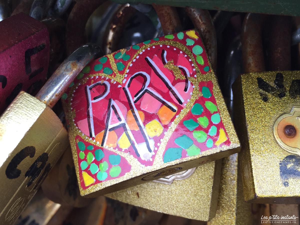 Cadenas d'amour, Pont des Arts