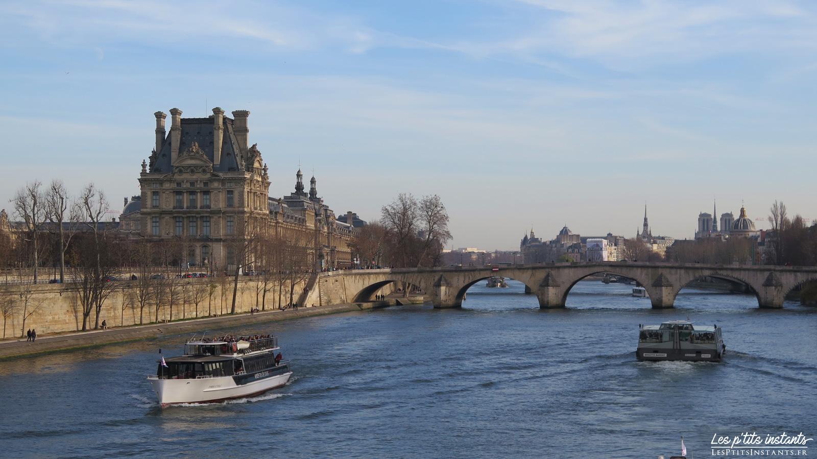 Le Pont Royal en hiver