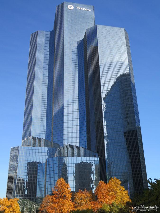 La tour Total Coupole, La Défense