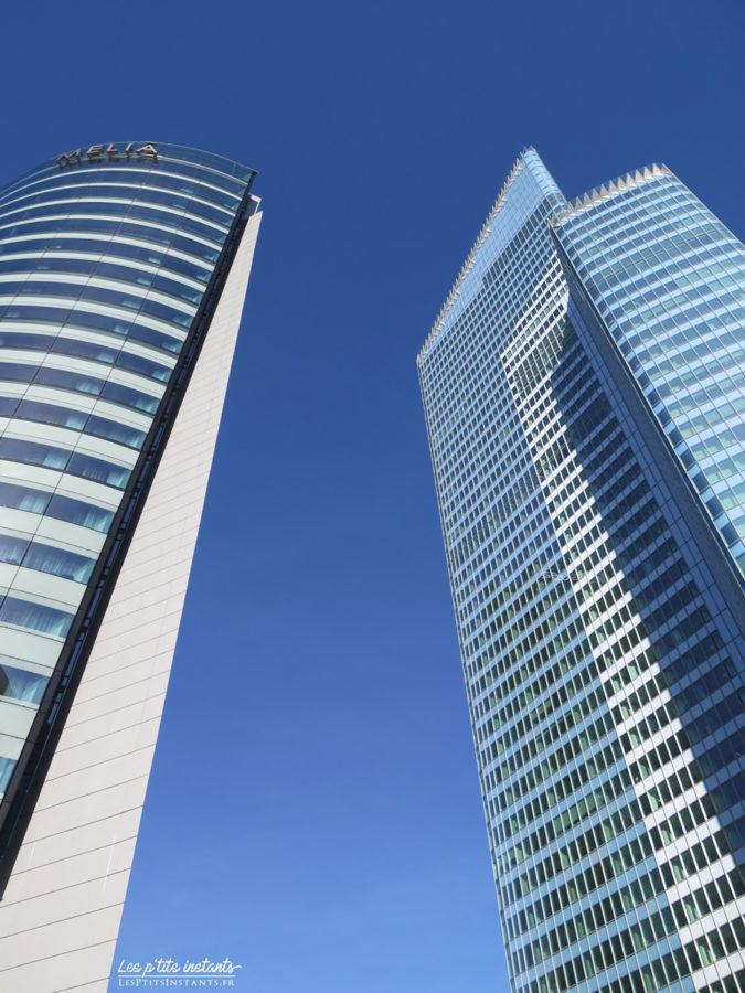 Les tours Melia et First, La Défense