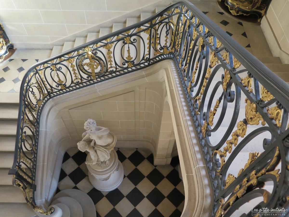 Escalier d'honneur, Musée Nissim de Camondo, Paris 8