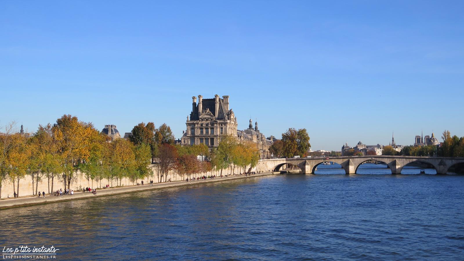 Le Pont Royal en automne
