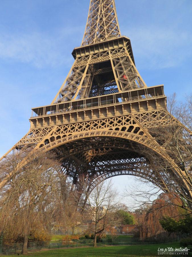 La tour Eiffel en hiver